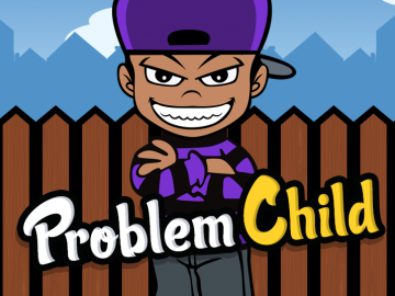 problem child vector design illustrator mixtape
