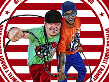 T-shirt design for Jowell Y Randy Official USA Fan Club