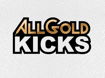 All Gold Kicks logo development
