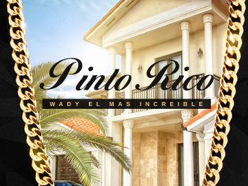 Pinto Rico single cover design