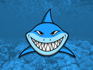 Shark vector character