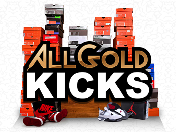 All Gold Kicks website development