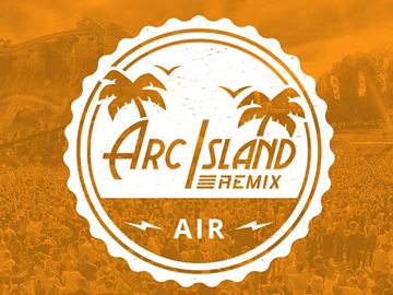 Arc Island logo development