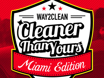 Cleaner Than Yours logo development