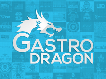 Gastro Dragon logo development