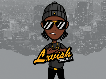 Lxvish Trillion Logo