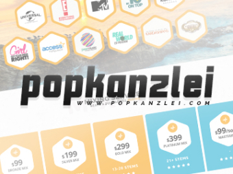 Popkanzlei Website