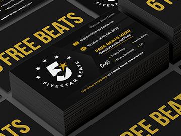 Fivestar Beats Business Cards