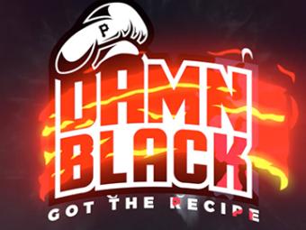 Damn Black Logo Intro