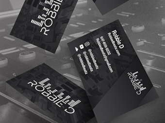 Robbie D Business Cards