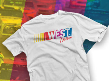 West Nation Nascar Shirt