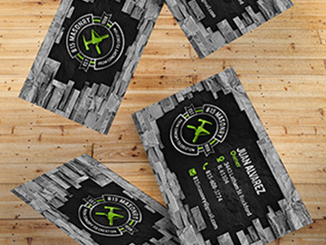 815 Masonry Business Cards