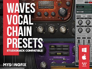 Waves Vocal Chain Presets